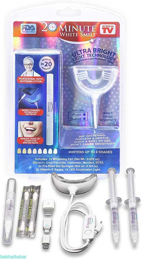 بلیچینگ دندان خانگی اصل