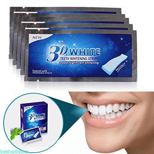 چسب رفع زردی دندانهای افراد سیگاری