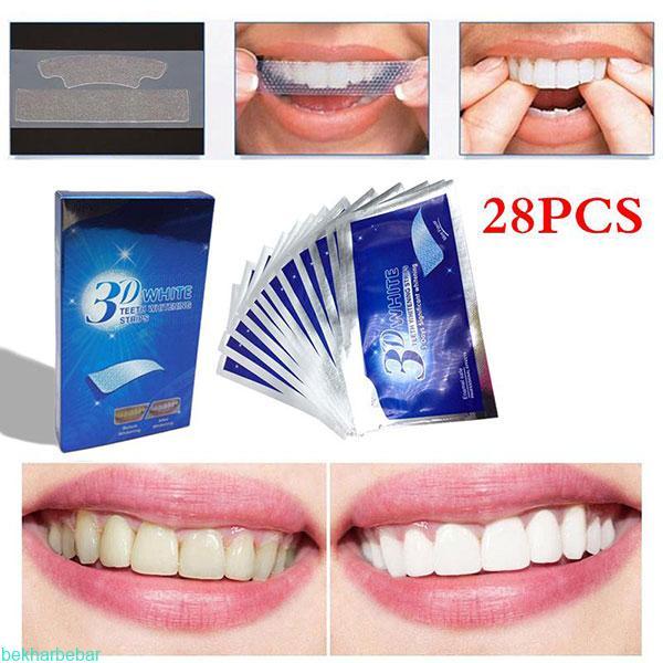 بهترین نوار چسب سفید کننده دندان ها
